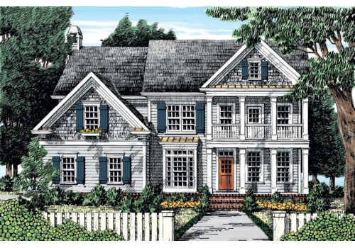 Blakeford House Floor Plan Frank Betz Associates