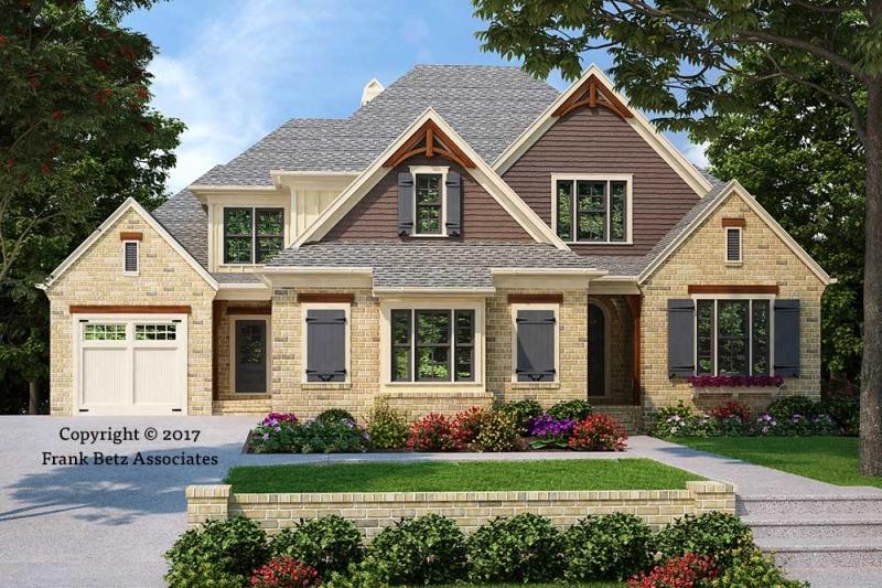 House plans frank betz associates for Shaker style home plans