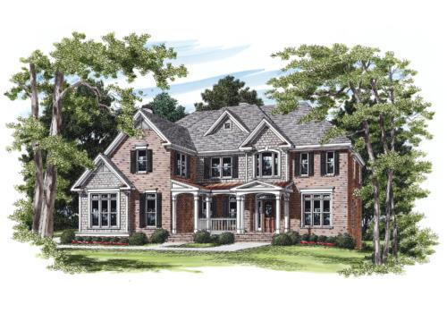 Abernathy House Floor Plan Frank Betz Associates